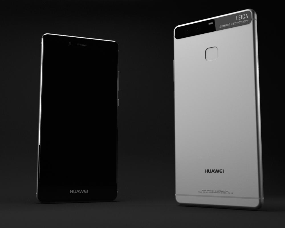 Huawei P9 (3D model)